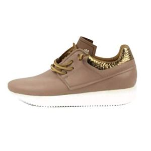 Esseutesse Women's Rosewater Leather Casual Fashion Sneakers