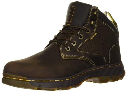 Dr. Martens Men's HOLFORD Boot, Gaucho + Dark Brown