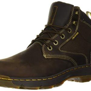 Dr. Martens Men's HOLFORD Boot, Gaucho + Dark Brown