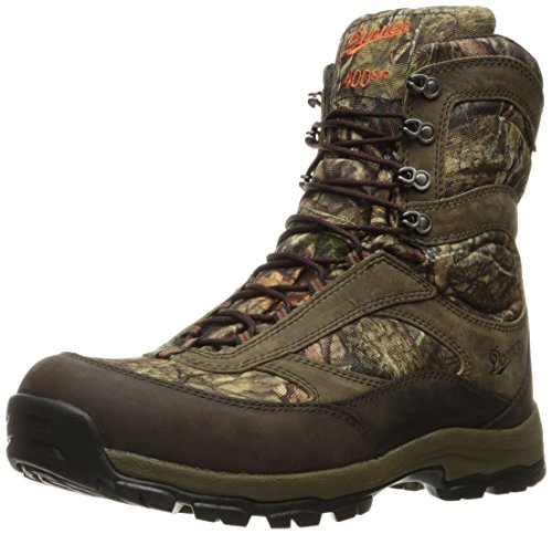 """Danner Men's High Ground 8"""" Hunting Shoes, Mossy Oak Break Up Country"""