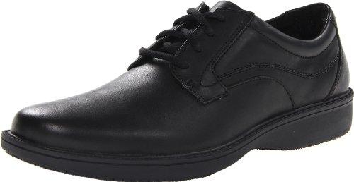 CLARKS Men's Wader Pure Food Service Shoe, Black