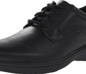 CLARKS Men's Wader Pure Food Service Shoe, Black