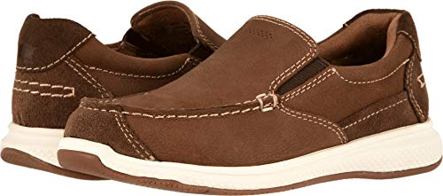 Florsheim Kids Boys' Great Lakes Jr. Moc To Slip On Loafer Stone
