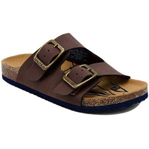 Nautica Kids Grant Youth Open Toe Sandal 2 Buckle Straps Comfort Slide