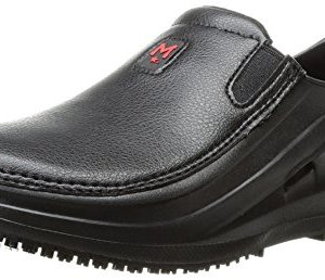 MOZO Men's SHARKZ Industrial & Construction Shoe, Black