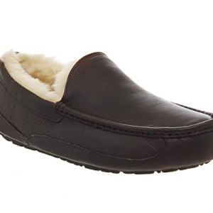 UGG Men's Ascot Slipper, China Tea Leather