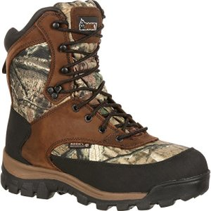 "Rocky Core Comfort 8"" 800g Insulated Boot 10 Mossy Oak Infinity"