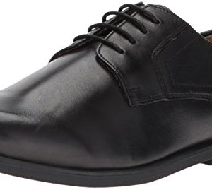 Florsheim Kids Boys' Midtown Plain Oxford Jr, Black