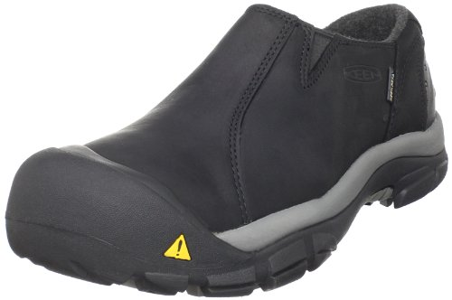 KEEN Men's Brixen Lo Waterproof Insulated Shoe,Black/Gargoyle