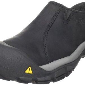KEEN Men's Brixen Lo Waterproof Insulated Shoe,Black/Gargoyle
