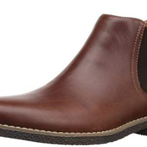 Deer Stags Boys' Zane Memory Foam Dress Comfort Chelsea Boot