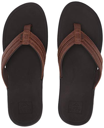 Reef Men's Leather Ortho-Bounce Coast Sandals