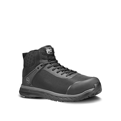 Timberland PRO Men's Drivetrain Mid Composite Toe Industrial Boot