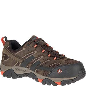 Merrell Work Men's Moab 2 Vapor Comp Toe Espresso