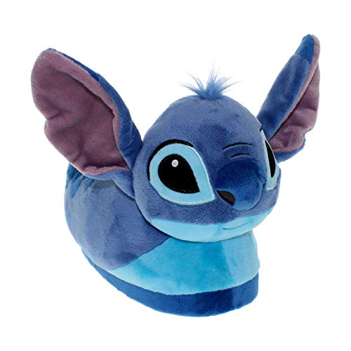 7021-4Disney Lilo & Stitch - Stitch Slippers - X-Large/XX-Large- Disney Lilo & Stitch - Stitch Slippers - X-Large/XX-Large