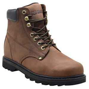 "EVER BOOTS ""Tank Men's Soft Toe Oil Full Grain Leather Insulated Work Boots"