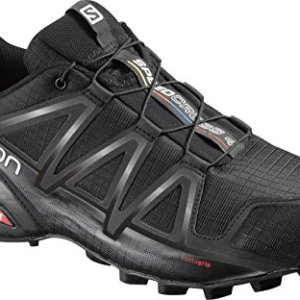 Salomon Men's Speedcross 4 Trail Running Shoes, Black