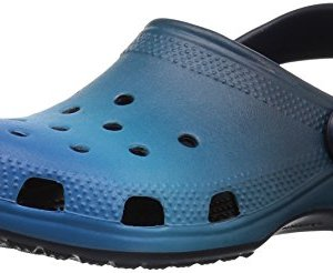 crocs Unisex Classic Ombre Clog K, blue ombre