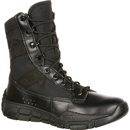 ROCKY Men's Military and Tactical Boot, Black