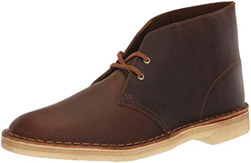 CLARKS Men's Desert Chukka Boot, Beeswax