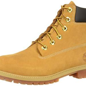 "Timberland Kids' 6"" Premium Waterproof Boot Core, Wheat Nubuck"