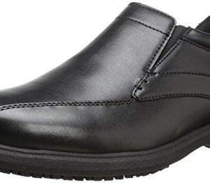Nunn Bush Men's Sanford Slip-On Loafer, Black