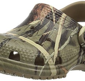 Crocs Kids' Classic Realtree Clog | Slip On Water Shoe for Toddlers