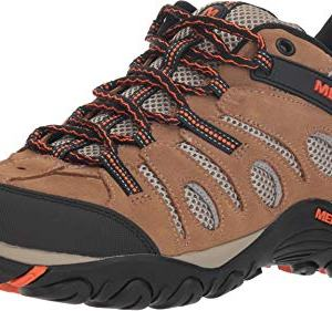 Merrell Men's Crosslander Vent Low Otter/Merrell Orange
