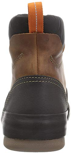 CLARKS Men's Bowman Top Boot, Dark Tan Leather CLARKS Men's Bowman Top Boot, Dark Tan Leather, 10.5 W US.