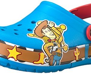 crocs Unisex-Kids CB FL woody Lights Clog K, Ocean
