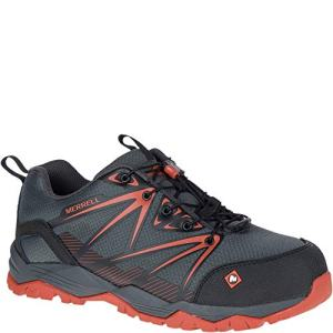Merrell Men's, Fullbench Composite Toe Work Shoes Granite