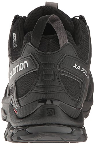 Salomon Men's XA Pro 3D Cs Wp Trail Running Shoes Salomon Men's XA Pro 3D Cs Wp Trail Running Shoes, Black/Black/Magnet, 11.5.