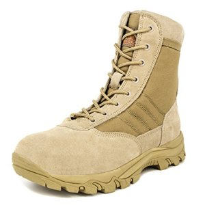 Milforce Men's 8 inch Military Tactical Boots Lightweight Combat Desert Shoes