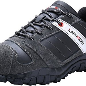 LARNMERN Work Shoes for Men, LM-18 Men's Steel Toe Safety Shoes