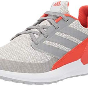 adidas Unisex-Kid's RapidaRun, White/Grey/Active Orange