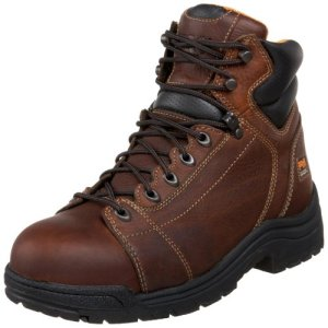 "Timberland PRO Men's Titan 6"" Lace to Toe Safety Toe Boot"