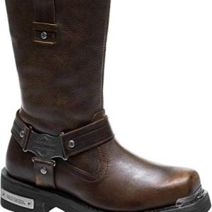 Harley-Davidson Men's Charlesfort Leather Motorcycle Boots
