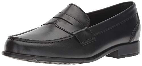 Rockport Men's Classic Lite Penny Loafer, Black/Black