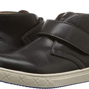 Florsheim Kids Boys' Curb Strap Chukka Sneaker, Black
