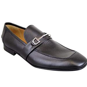 Gucci Horsebit Black Leather Loafer