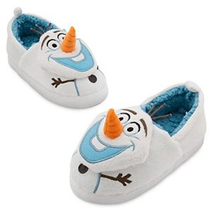 Disney Store Olaf Slippers for Kids (11/12) White