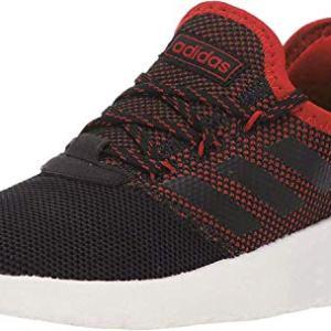 adidas Unisex Lite Racer Reborn, Black/Active red