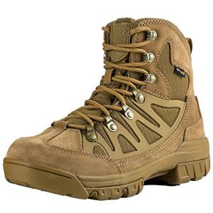 FREE SOLDIER Outdoor Men's Tactical Military Combat Ankle Boots