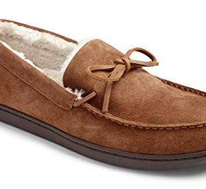 Vionic Men's Irving Adler Slipper with Durable Rubber Sole