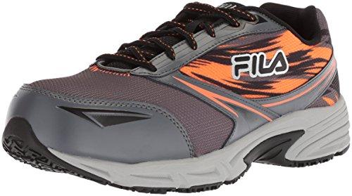 Fila Men's Memory Meiera 2 Slip Resistant Composite Toe Trail Running Shoe