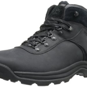 Timberland Men's Flume Waterproof Boot,Black