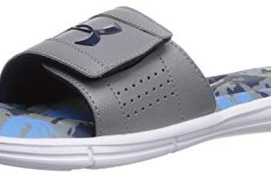 Under Armour Men's Ignite V Breaker Slide Sandal Academy