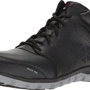 Reebok Work Men's Sublite Cushion Work Mid EH Black