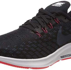 Nike Men's Air Zoom Pegasus 35 Running Shoe Black/Armory Navy/Platinum