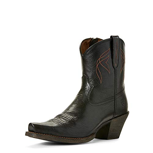 ARIAT Women's Lovely Western Boot Jackal Black